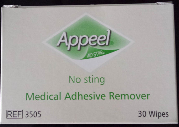 Adhesive Remover Wipe Me And My Stoma